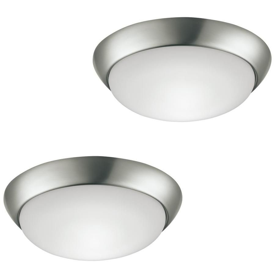Project Source 2 Pack 11 In Brushed Nickel Traditional Integrated