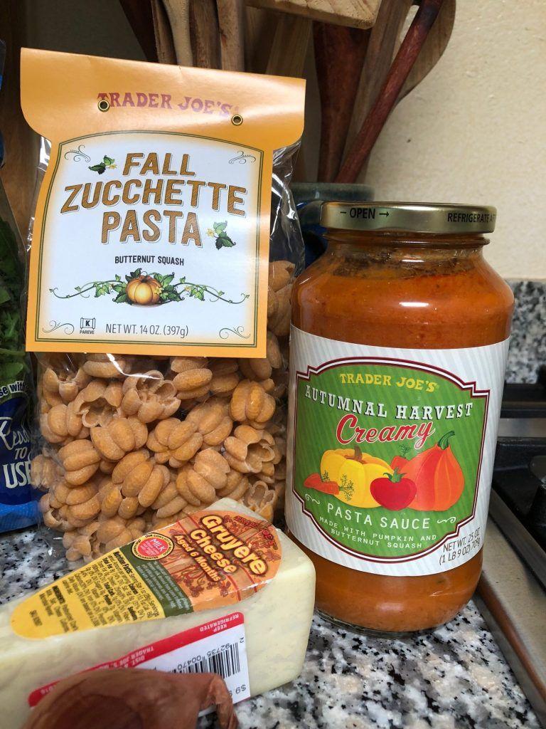 Baked Fall Zucchette Butternut Squash Pasta Chapi S Kitchen Recipe Squash Pasta Butternut Squash Pasta Butternut Squash