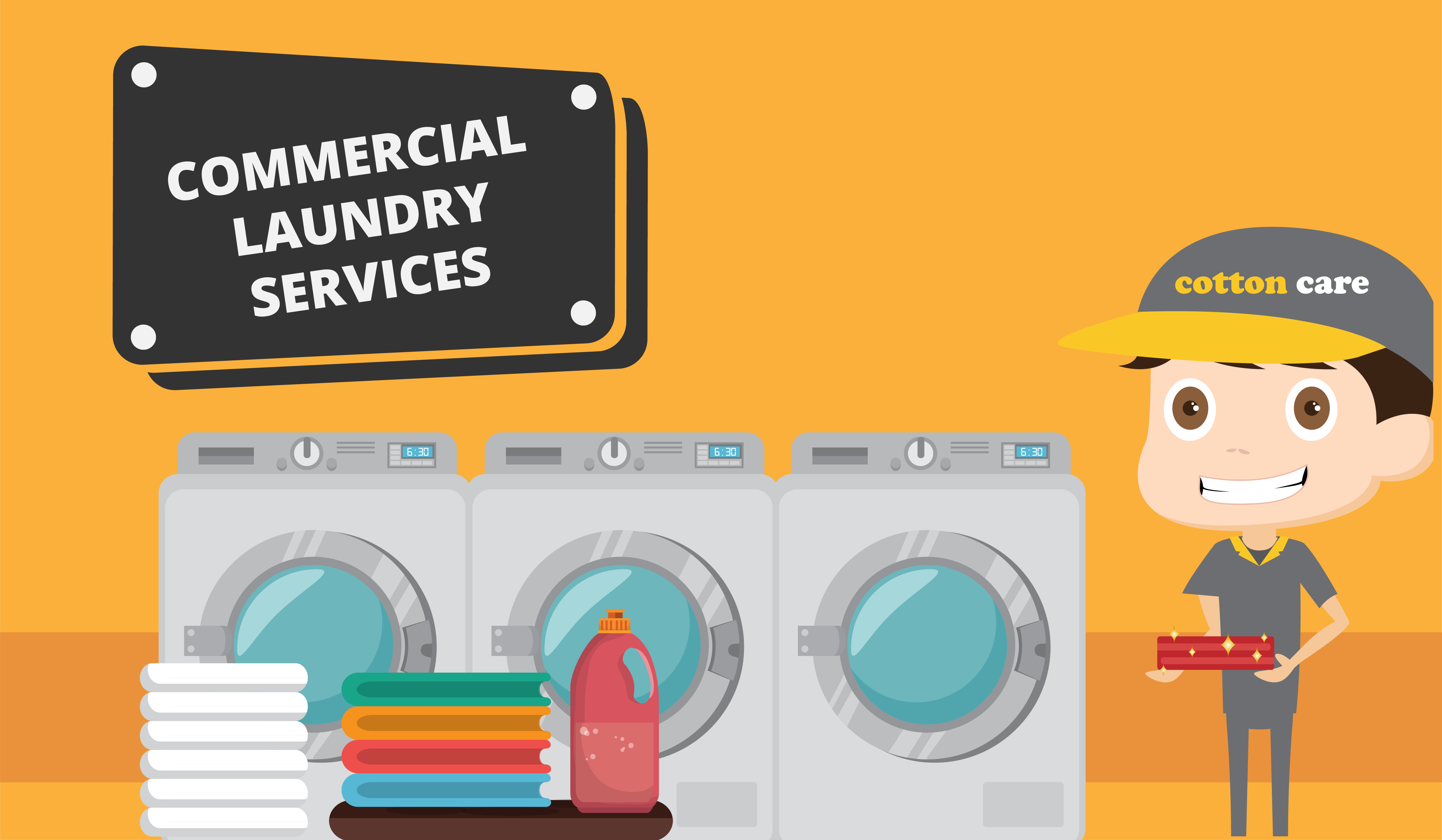 The Important Role Of Commercial Laundry Services Commercial