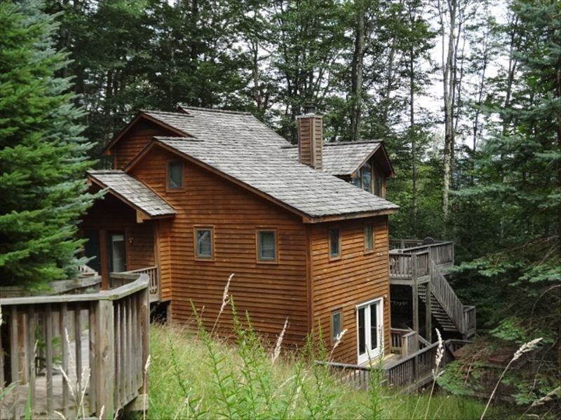 Chalet vacation rental in canaan valley from