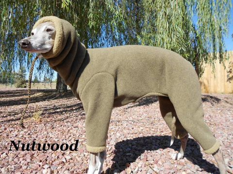 Outdoor Warm Winter Body Suit For Italian Greyhounds With Toggle