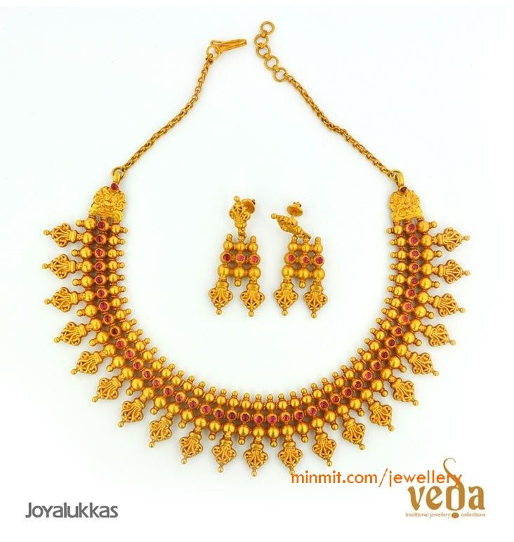 Collection necklace set from joyalukkas veda collection necklace set from joyalukkas aloadofball Image collections