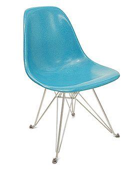 637184dd2 Fiberglass Shell Chair - Side Shell Eiffel Base - Modernica ...