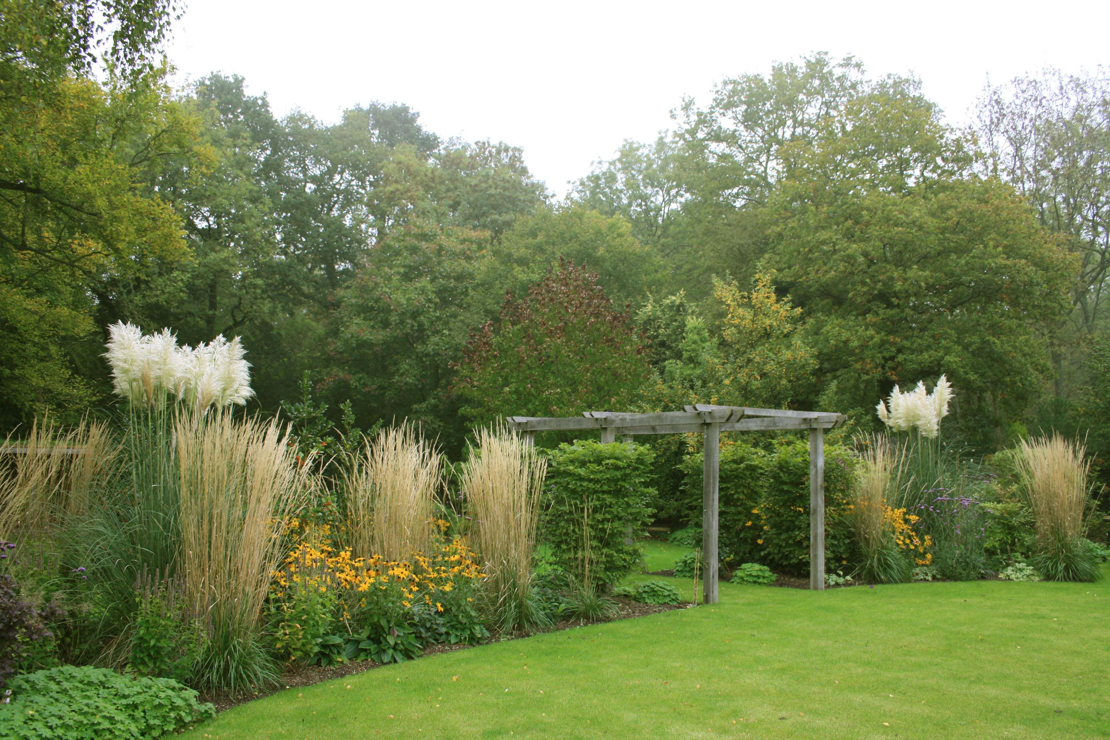 Pergola Into Another Garden Area Garden Design Garden Ideas Uk Garden Shrubs