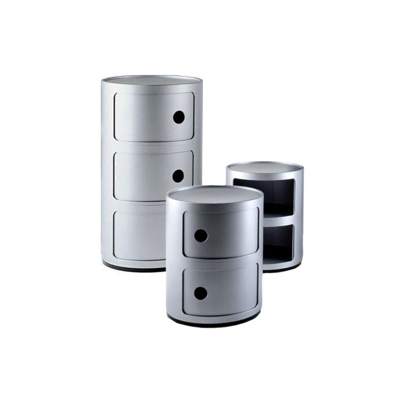 Meuble De Rangement Componibili 3 Tiroirs Kartell Silvera Eshop En 2020 Meuble Rangement Table De Chevet Design Chevet Design