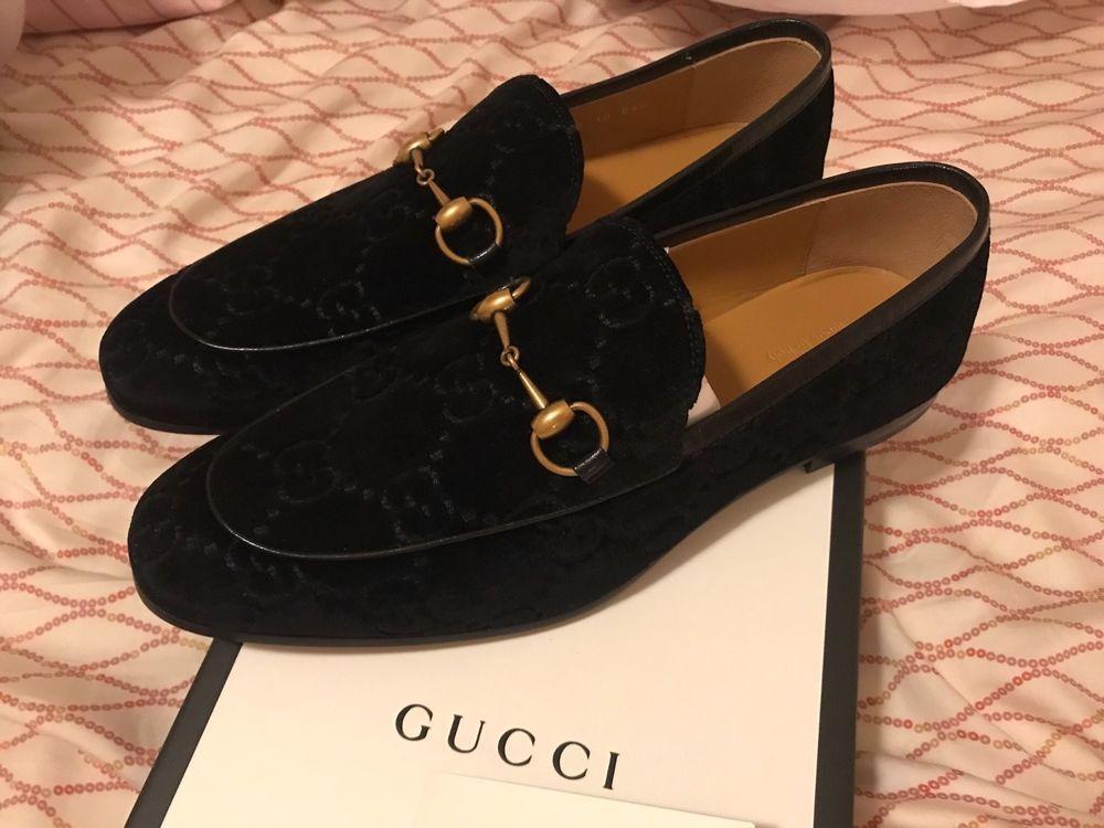 Black velvet shoes, Velvet loafers