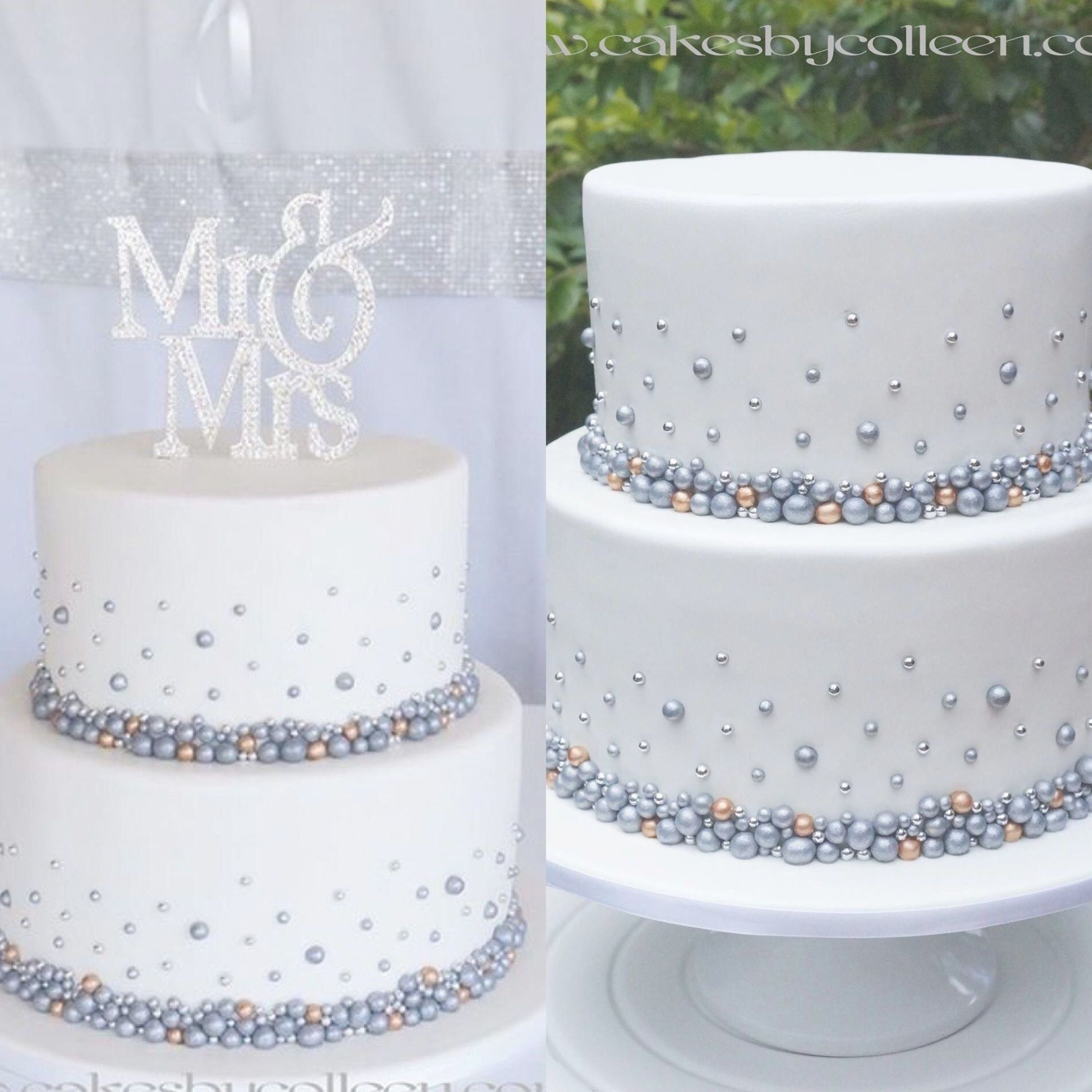 2 Tier Simple Wedding Cake Designs Addicfashion