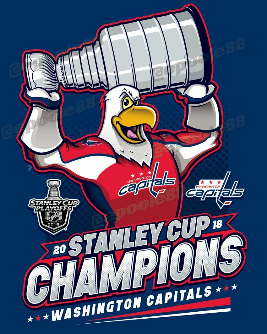 Washington Capitals - 2018 Stanley Cup Champions  ALLCAPS  617217787