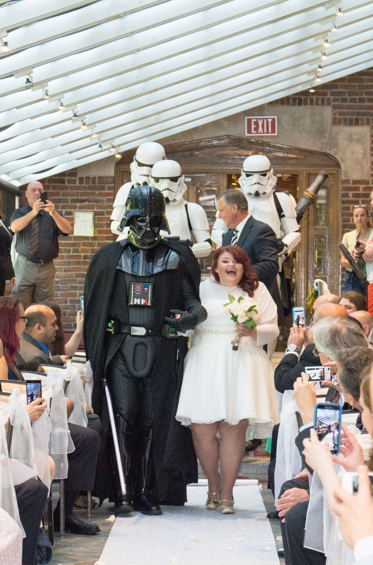 Star Wars/Back to the Future Wedding