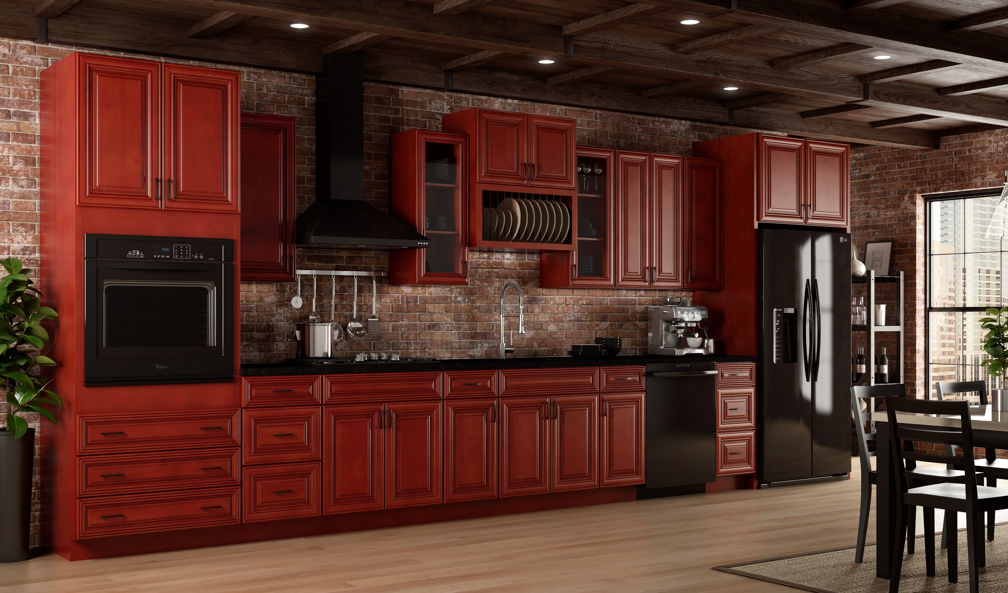 Prime Cabinetry Columbia Cherry Shop Now Www Primecabinetry Com