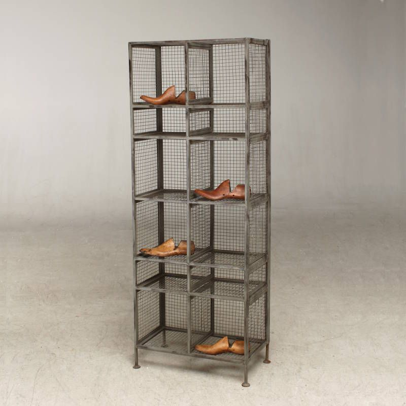 Tall footwear wire mesh shelving   metal mesh   Pinterest   Wire     Tall footwear wire mesh shelving