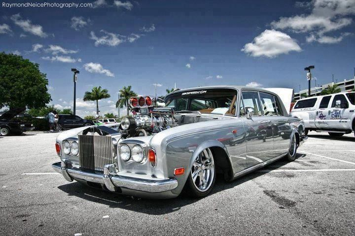 Rolls Royce supercharged hotrod! Sometimes  even if the concept appears sound putting it in to practice may need a rethink. If your B2B Comms requires a touch of remodelling come and speak to us @ www.12th-man-solutions.co.uk/ for some sound advice.
