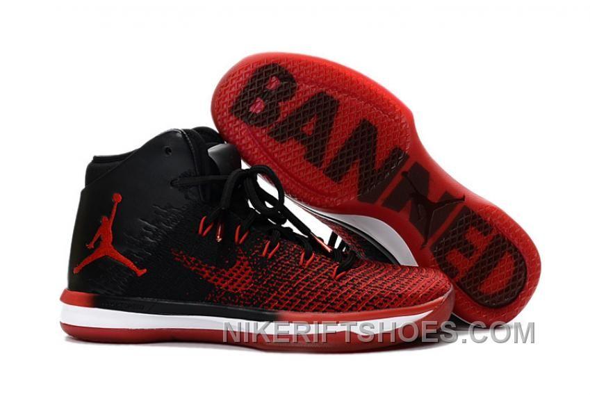 428dfe54666 Nike Air Jordan XXXI 31 Black White Wolf Grey Red Mens Basketball Shoes