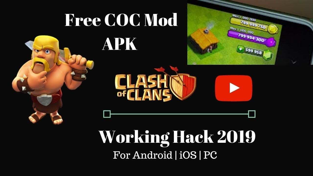 Clash Of Clans Mod Apk Unlimited Gems Gold And Elixir