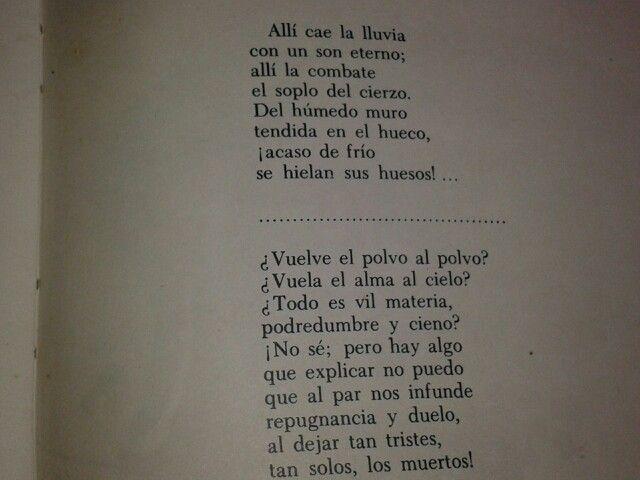 Mi Poema Favorito De Gustavo Adolfo Becquer Tomado Del Libro Rimas Poemas Poesía Letras