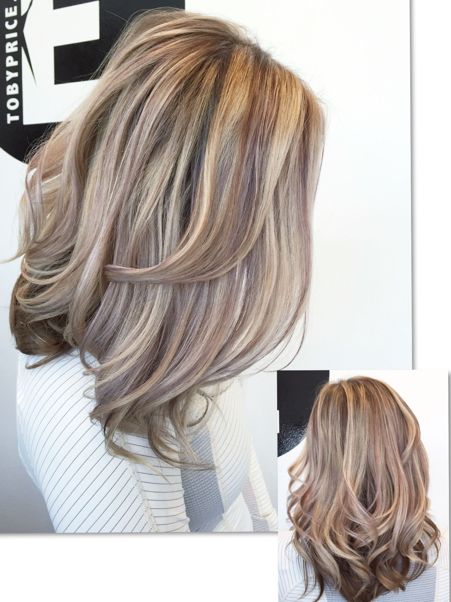 Paul Mitchell Blonde Highlights Violet Hair Color Chart