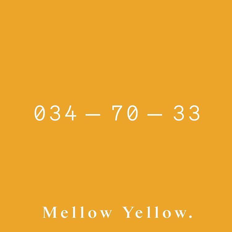 Resultado de imagem para cor pantone yellow mellow