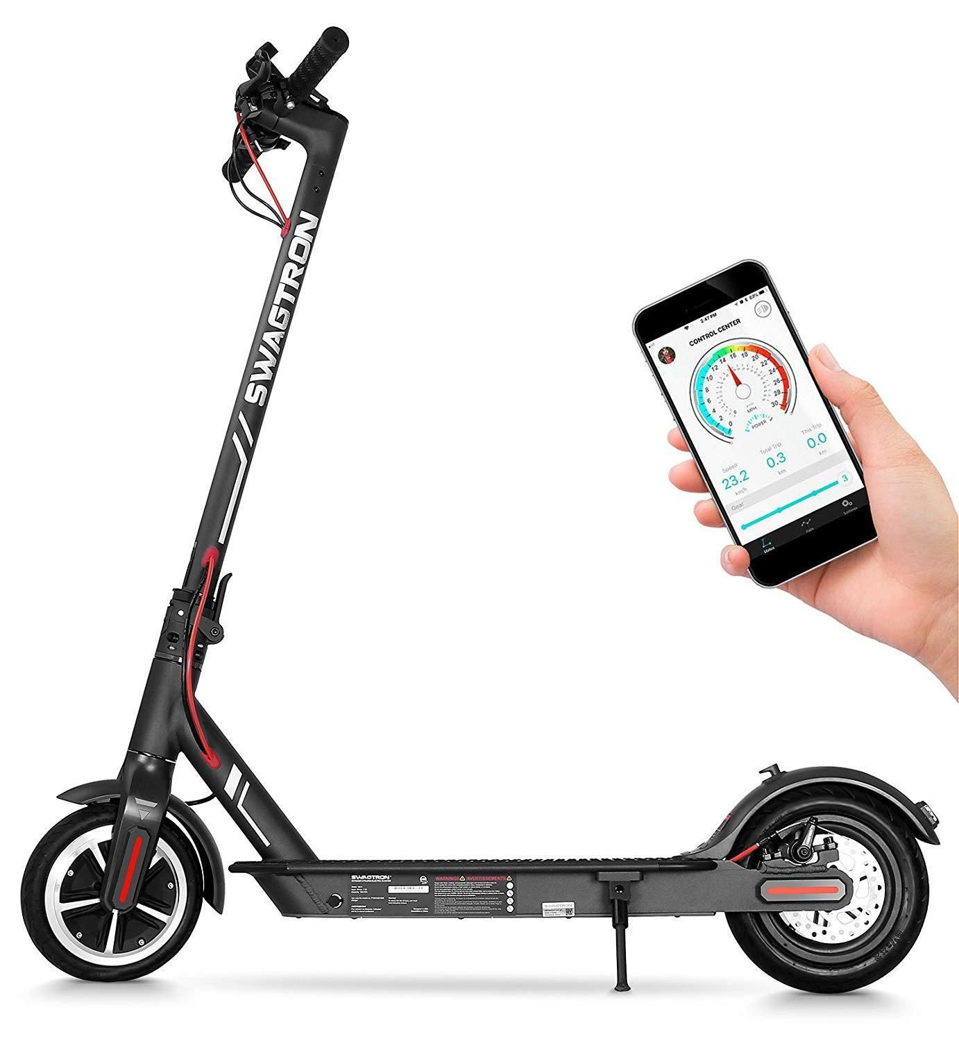 Swagtron Swagger 5 Elite Portable And Foldable Electric Scooter Version 2 270 99 Free Ship W Prime