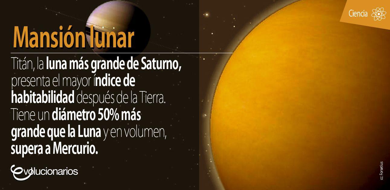 Un estudio de la Universidad de Tennessee muestra que Titán es el único cuerpo celeste en cuya atmósfera existen brisas que se creía solo alcanzaban los 70 km/h, cuando en realidad sus vientos pueden llegar hasta los 300 km/h. Además, en la superficie existen mares de etano y metano.