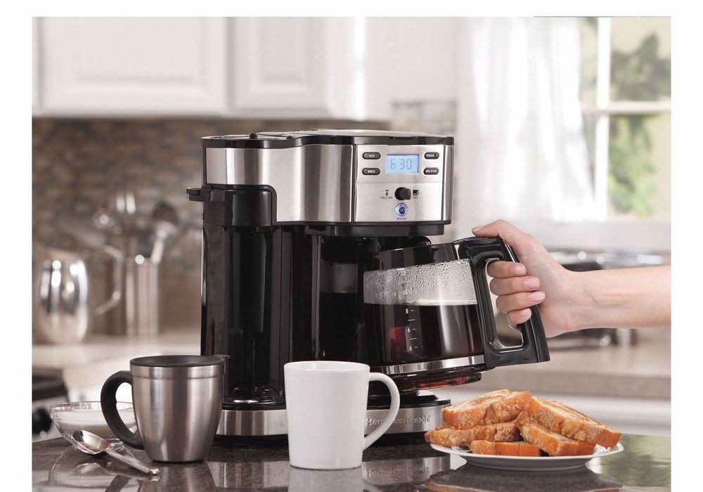 Hamilton Beach Commercial Coffee Maker Automatic 2Way
