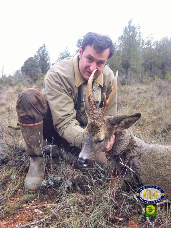 Roe deer hunted with Atlas Hunting (2013).