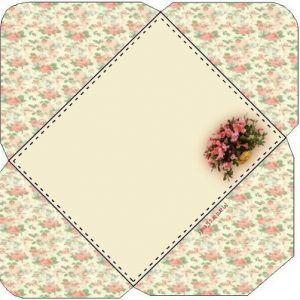 briefumschl ge selber falten 5 sch ne schablonen dekoking com ideas envelopes pinterest. Black Bedroom Furniture Sets. Home Design Ideas