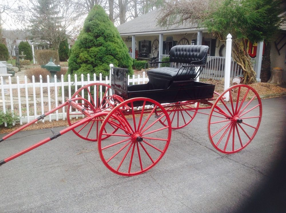 Horse Drawn Carriage Buggy Sleigh Wagon