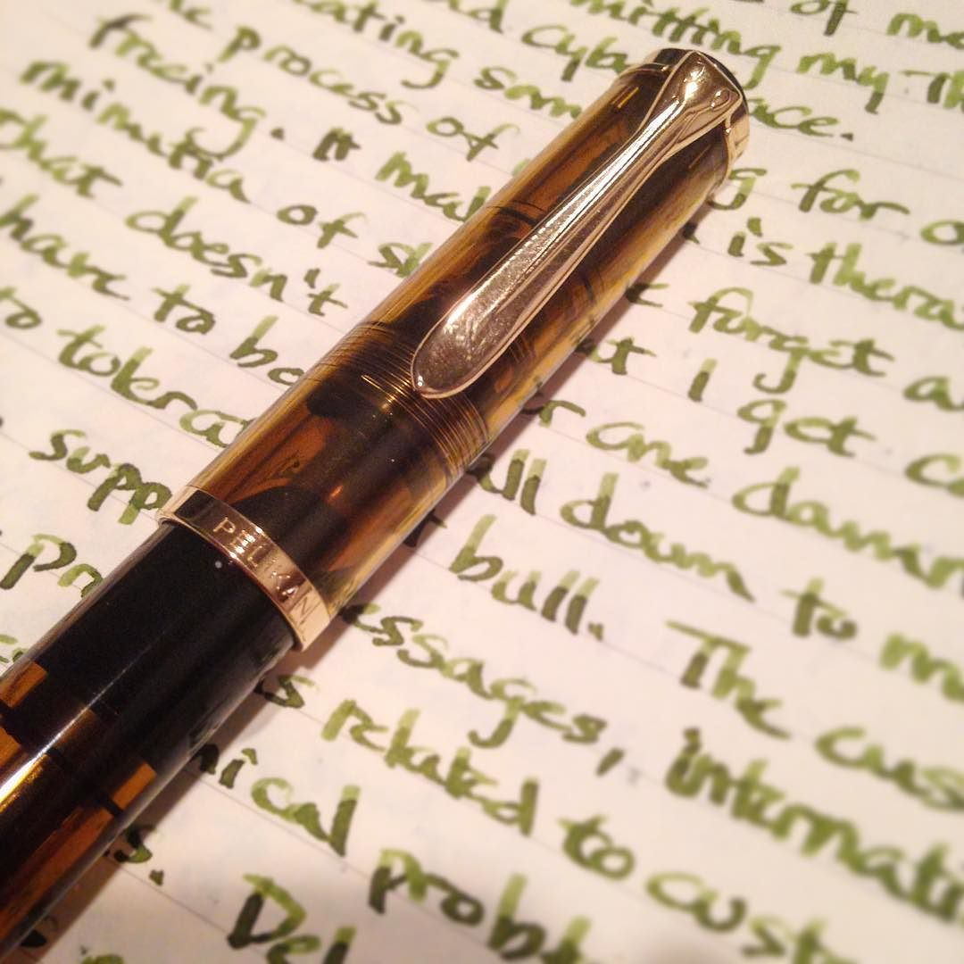 I Chose The Pelikan M200 Cognac To Be My Pen Of Choice For