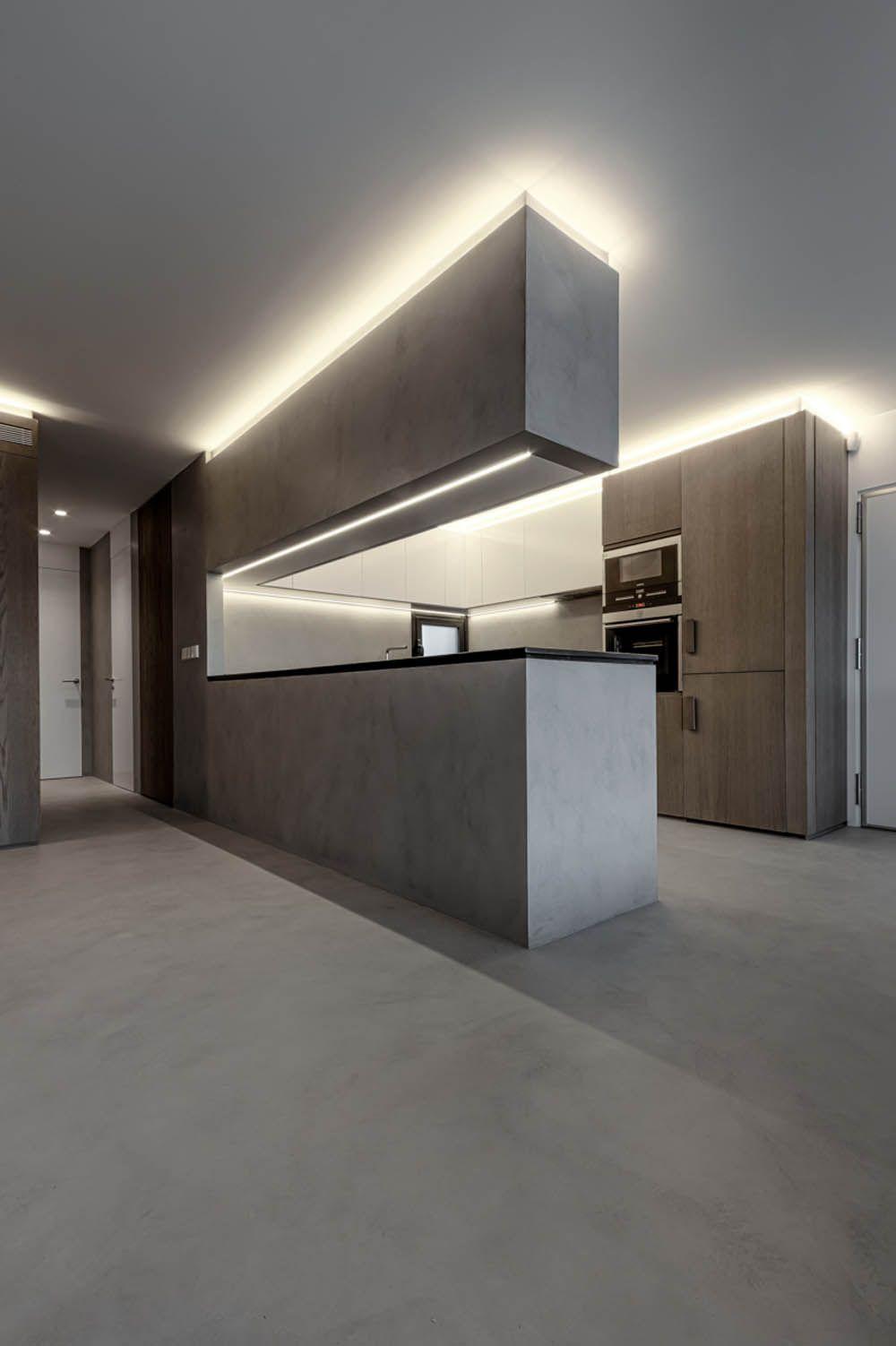 Ideas de decoraci n e iluminaci n con tiras de leds - Iluminacion cocina led ...