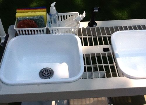 Build A Portable Diy Camping Kitchen With Working Sink Diy