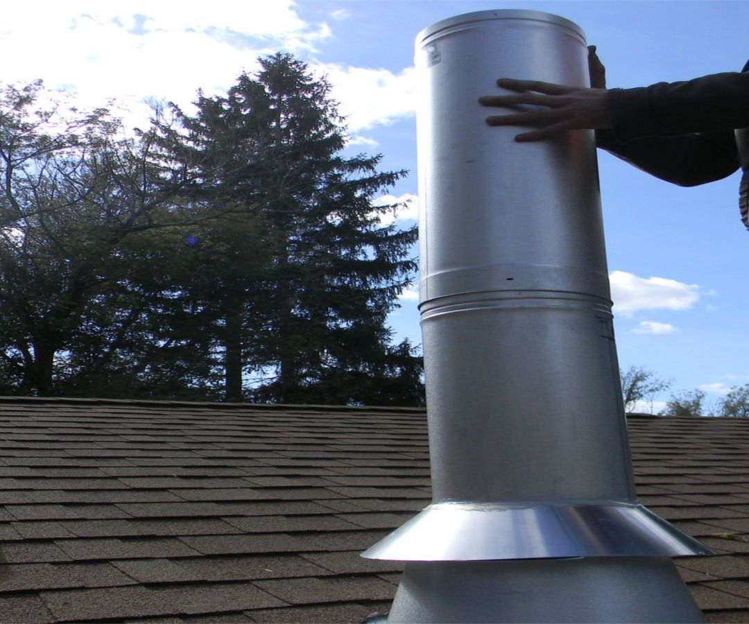 How To Install A Chimney For A Wood Stove On A Metal Roof Ehow Uk Wood Stove Installation Wood Stove Chimney Metal Roof