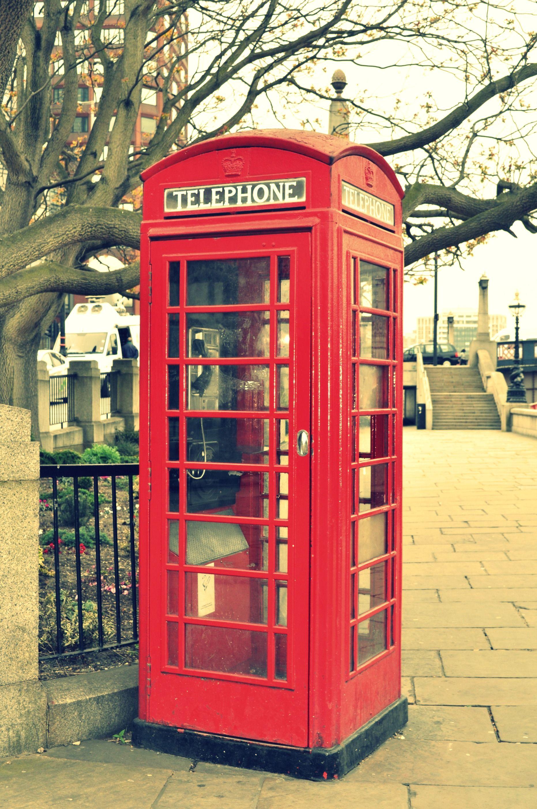 London Telephone Booth Travel Pinterest Telephone Booth London And Telephone