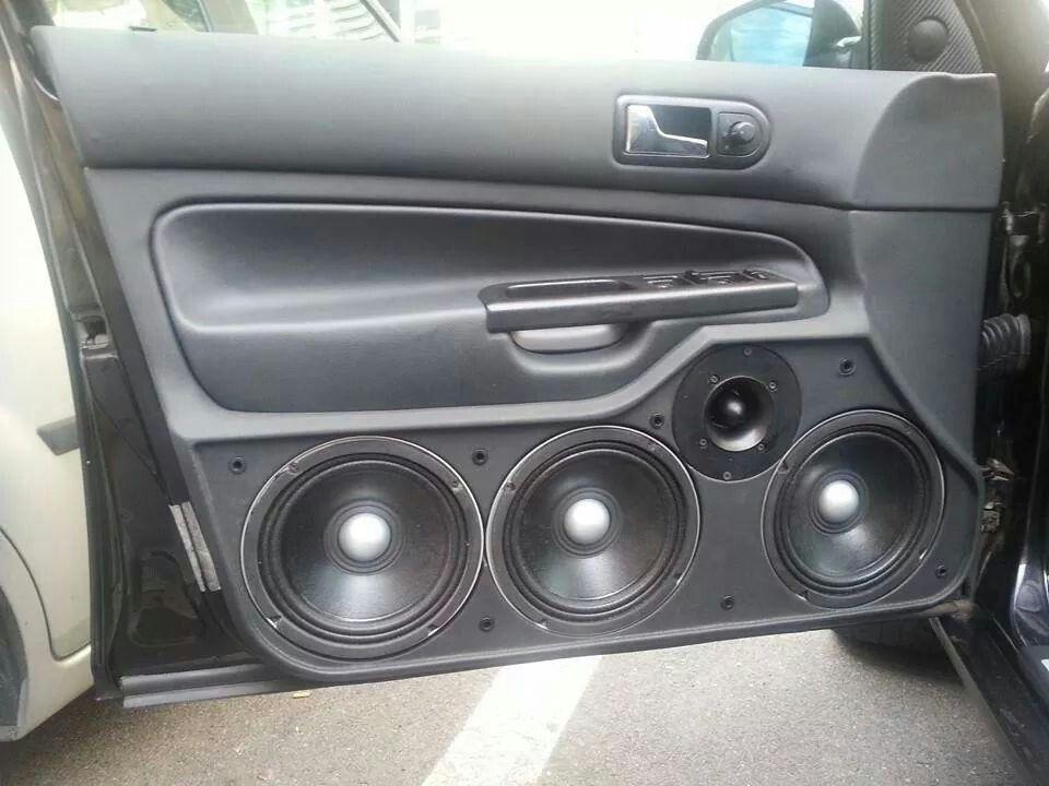 Golf 4 Door Custom Car Audio Car Audio Systems Car Audio