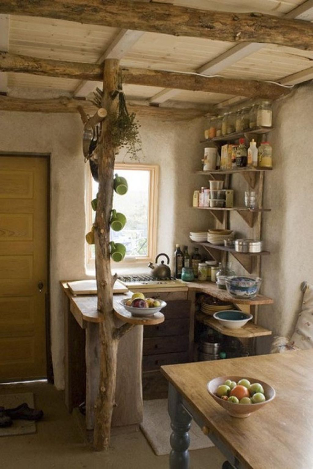 Kitchen , Get A Superb Look By Building Extraordinary Rustic Italian  Kitchens In Small Spaces :