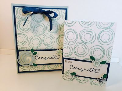Video tutorial - gift box bag using  Swirly Bird by Stampin' Up. Team member gift
