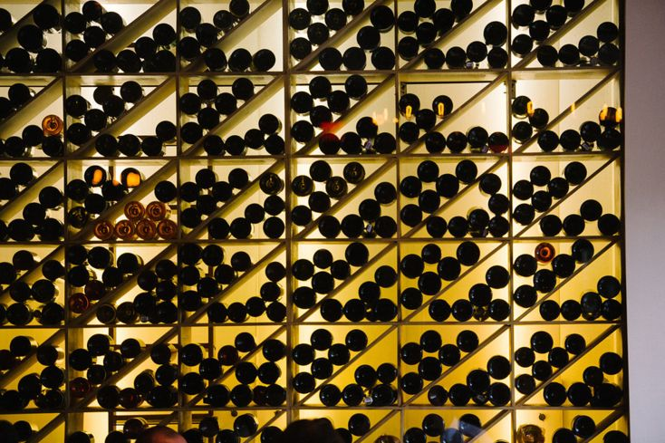 Frasca Food And Wine Wine Wall Photo Credit James Christianson