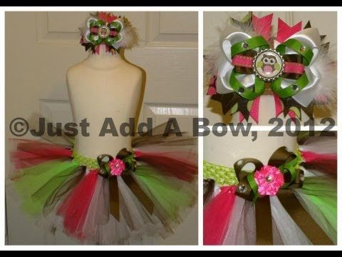58c1ee9b7 HOW TO: Tie or Attach a Bow or Flower onto a Tutu by Just Add A Bow -  YouTube