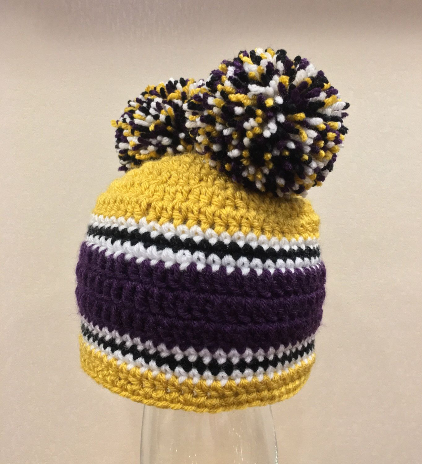7189e21be50 A personal favorite from my Etsy shop  https   www.etsy.com listing 485094591 double-pompom-team-hat-free-shipping
