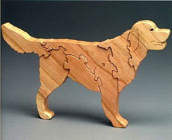 Free Scroll Patterns Of Dogs Sherwood Creations Animal Puzzles