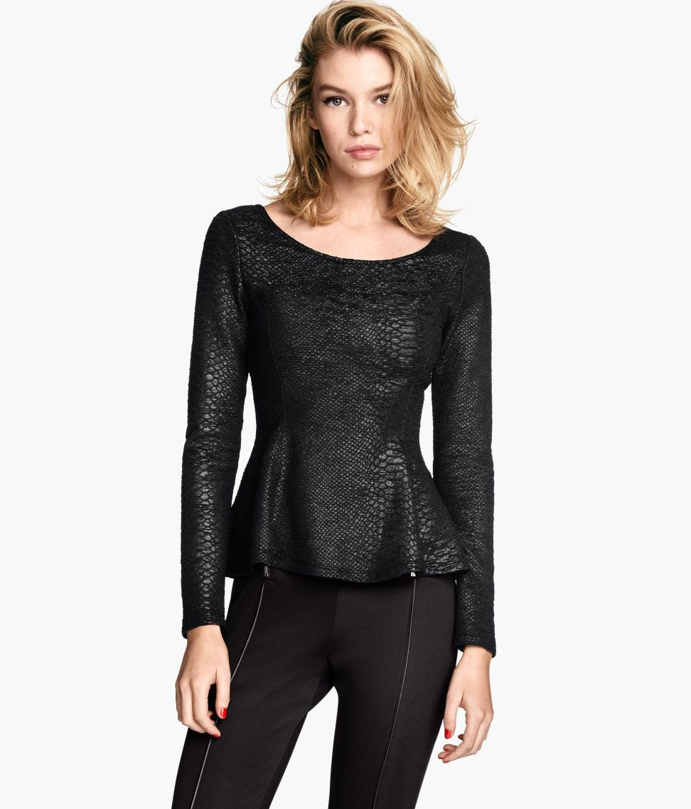 Embrace smart casual in peplum tops from Next. Available in long and short sleeves, update your collection today. Next day delivery & free returns available.