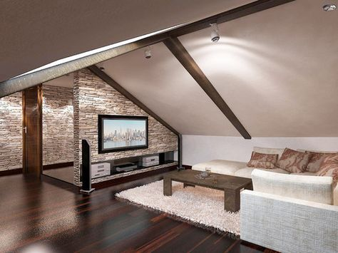 Pin by Trinh Huynh on Bedroom / Attic Pinterest Attic, Lofts and