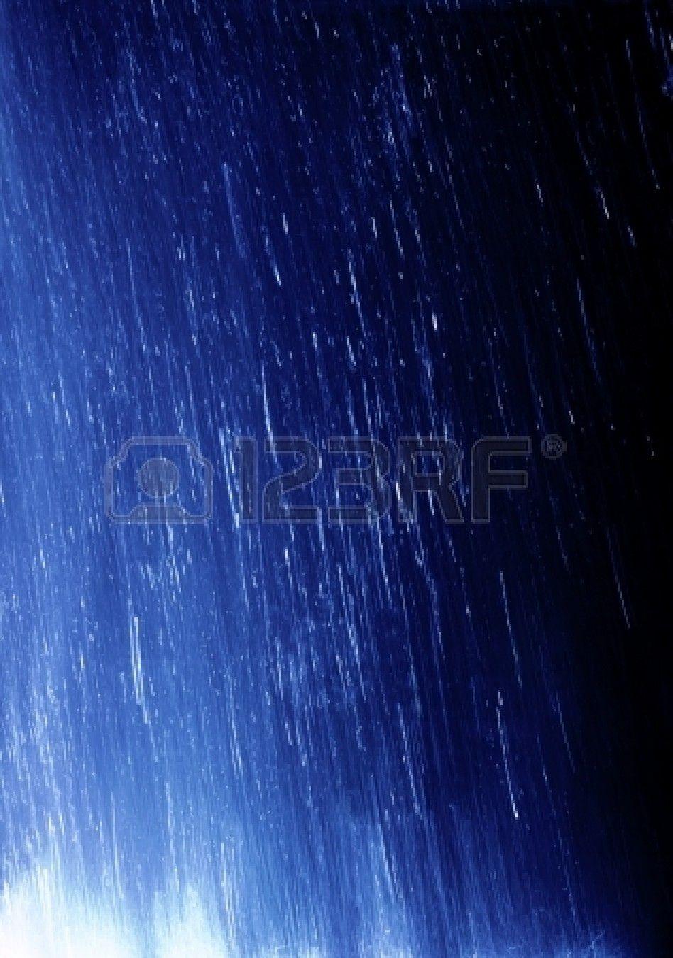 Lloviendo Foto de archivo