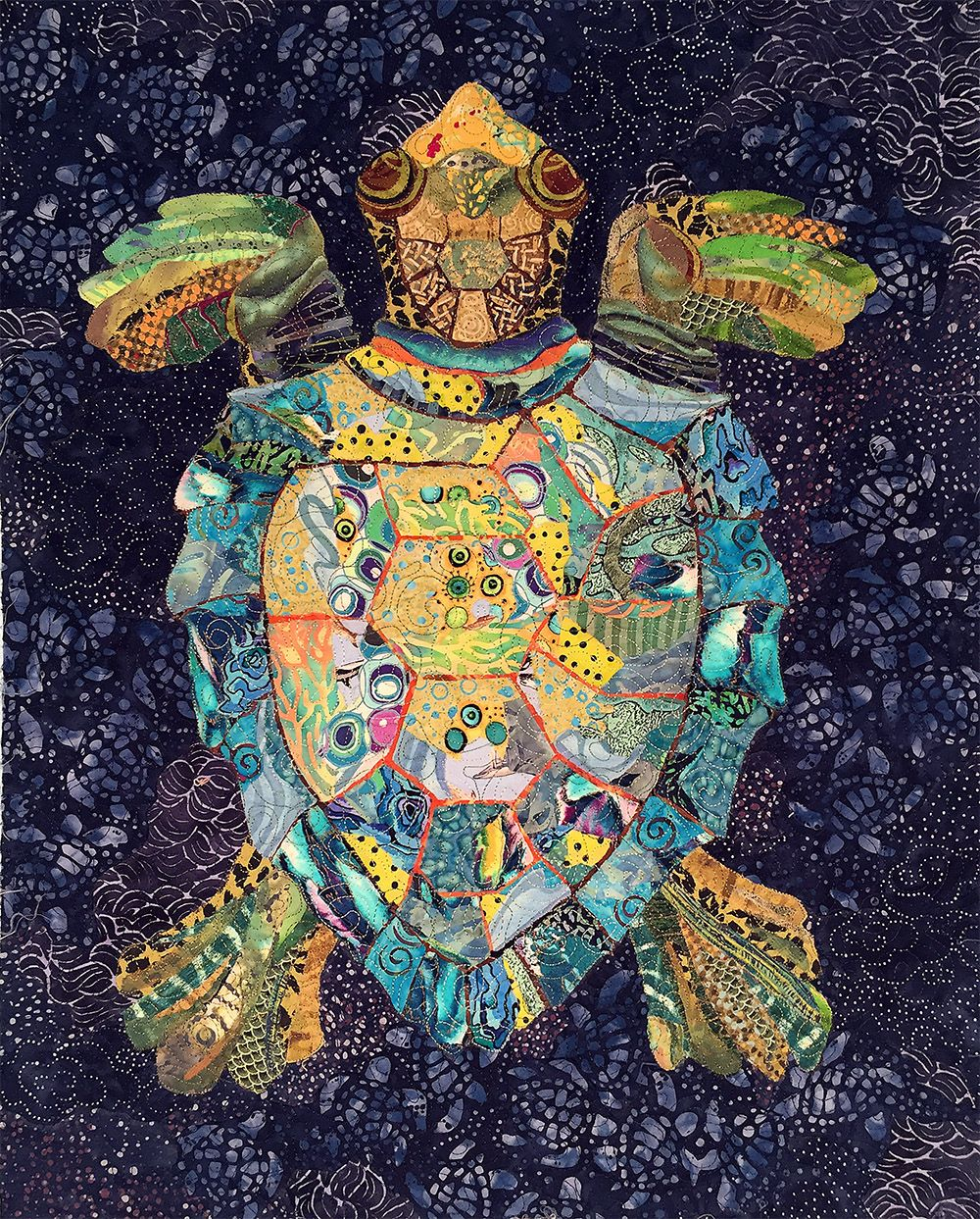 Serendipitous Sea Turtle Pattern | Susan Carlson Quilts | Quilt ... : serendipity quilts susan carlson - Adamdwight.com