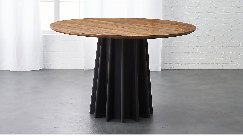 Shoreditch Dining Table Cb2 Table Concept Only Find Option