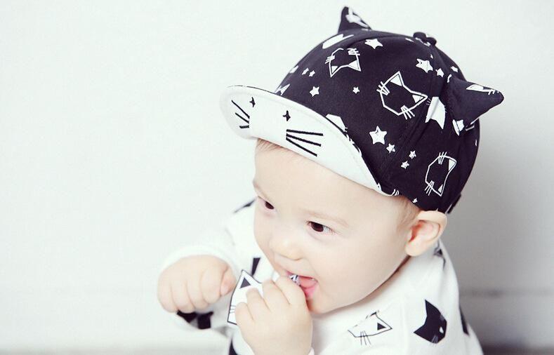 Summer Kids Baby Unisex Boy//Girls Cute Cotton Baseball Cap Sun Visor Cap Hot
