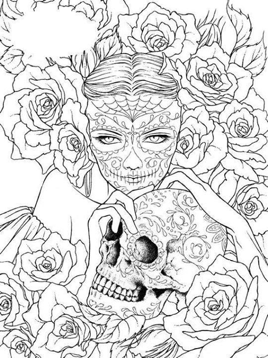 tete de mort …   Pinteres…