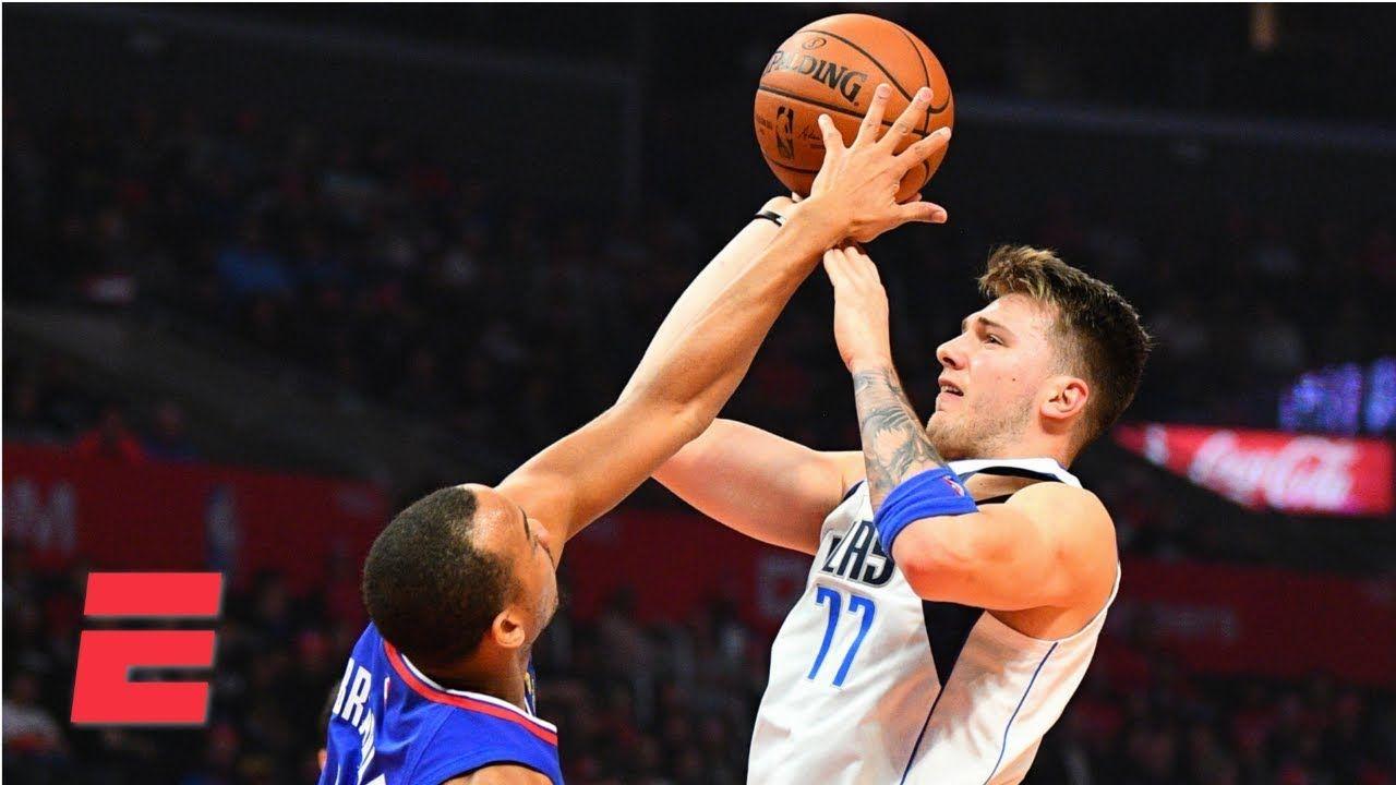 Luke Doncic Puts Up Highlight Reel In Mavericks Loss To Clippers Nba Highlights Basketball News Mavericks Nba