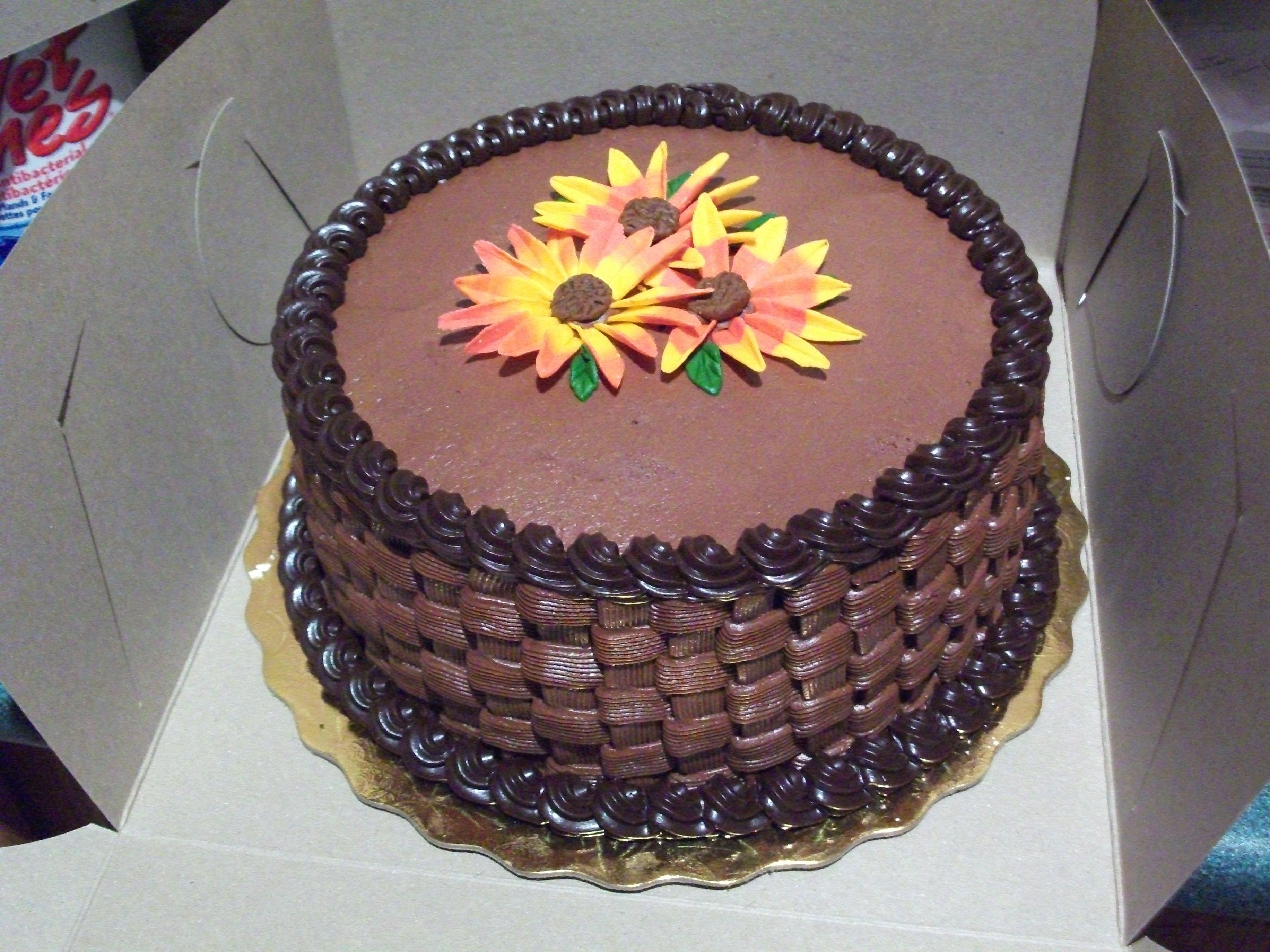German chocolate cake basketweave cake ideas pinterest for Decoration 4 cake