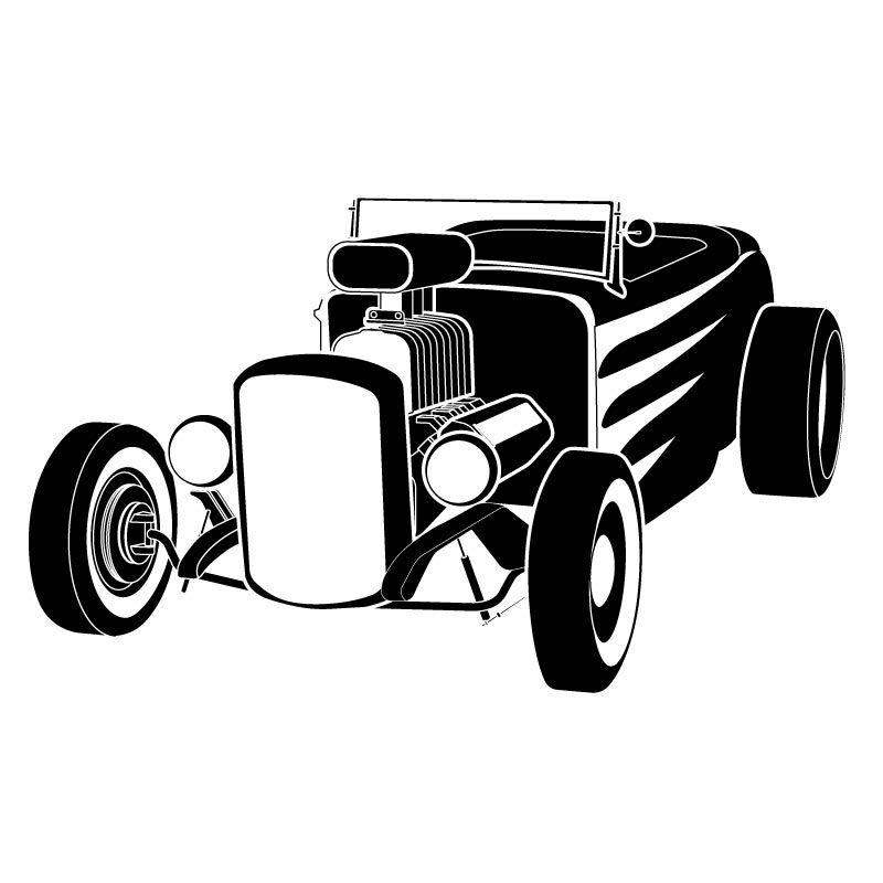 hot rod clip art black and white hot rod 03 jpg s k pinterest rh pinterest co uk hot rod clipart free hot rod clipart designs for vinyl cutting
