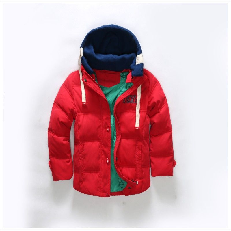 4f35b36a6 Click to Buy    2017 Winter kids cotton soft jacket fashion boys ...